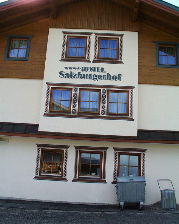 Salzburgerhof-Fassadenarbeiten-Zauchensee